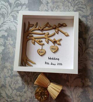Personalised Wedding Tree Frame