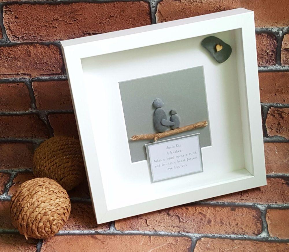 Childminder Pebble Art Box Frame