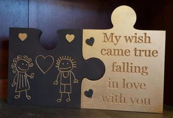 Valentine Wooden Jig Saw Set