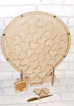 Hot Air Balloon Drop Box Wedding Guest Book Alternative