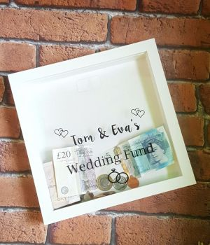 Wedding Saving Box Frame