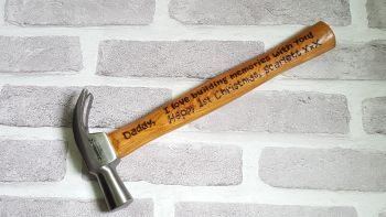 Engraved Wooden Hammer
