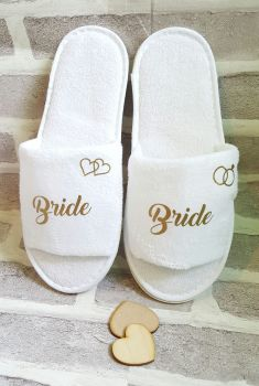 Wedding / Bridal Party / Spa Slippers