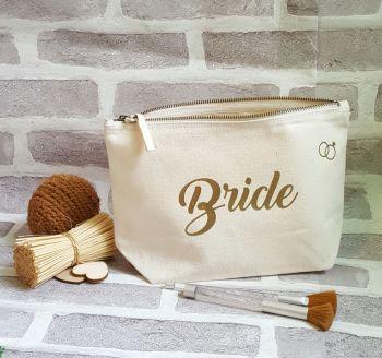 Personalised Wedding Makeup Bag, Bridesmaid Bag, Maid Of Honour Bag, Bride Makeup Bag Looking for acce