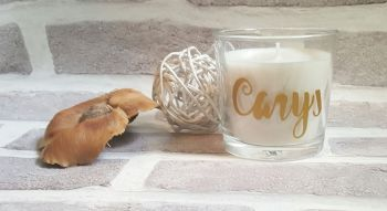 Personalised Candle, Scented Candle Bridesmaid Gifts, Personalised Thank You Gift, Personalised Candle, Wedding Thank You Gift