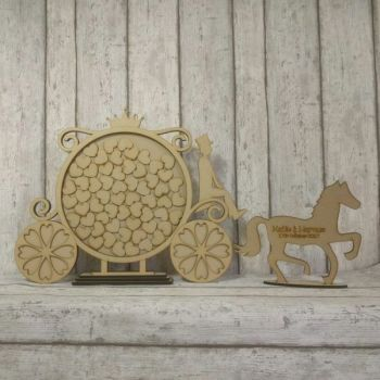 Horse & Carriage Guest Book