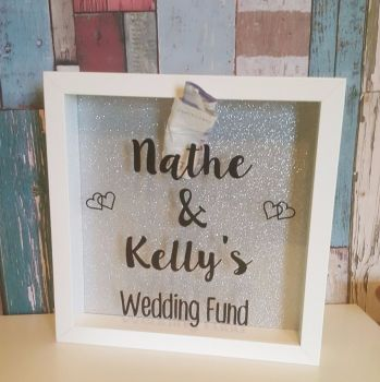 Wedding Savings Fund Box Frame