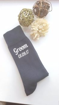 Best Man Socks, Groom Socks, Groomsmen Socks, Personalised Wedding Socks