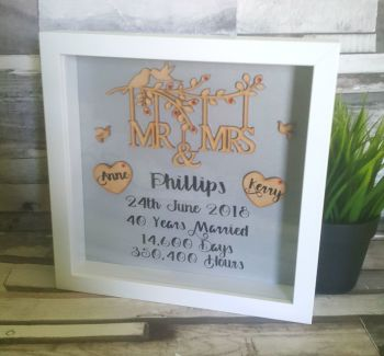 Wedding Anniversary Frame.