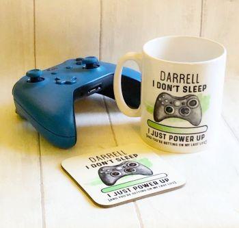 XBOX Gamer Mug & Coaster Set