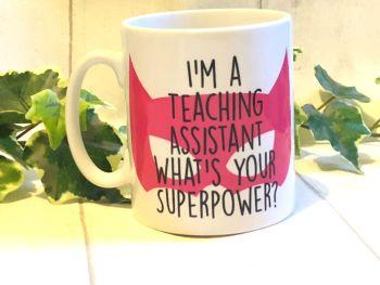 Teaching Assistant Super Hero Mug