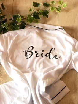 Cottton Bride Short Pyjama Set