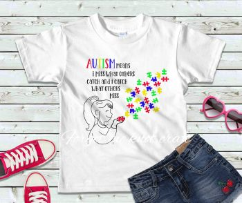 Autism Awareness T-shirt, Autism Jigsaw T-shirt, Autism Puzzle