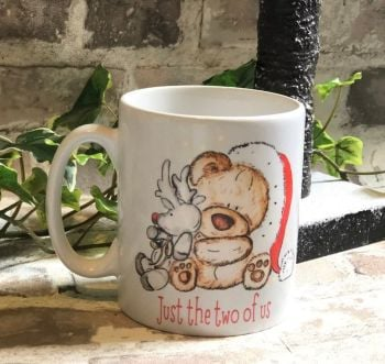 Bear Christmas Mug, Just The Two Of Us Christmas Mug