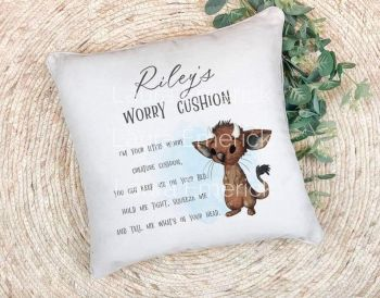 Worry Cushion , Mouse Design Worry Cushion, Lockdown 2020 gift.