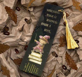 Girl Wizard Bookmark