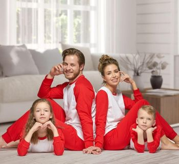 Personalised Matching Family Pyjamas. Super soft cotton pj's for all the family