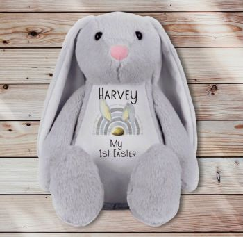 My First Easter Gift, New Baby Gift, Easter Bunny Soft Toy, Easter Bunny Cuddly Teddy Bear.