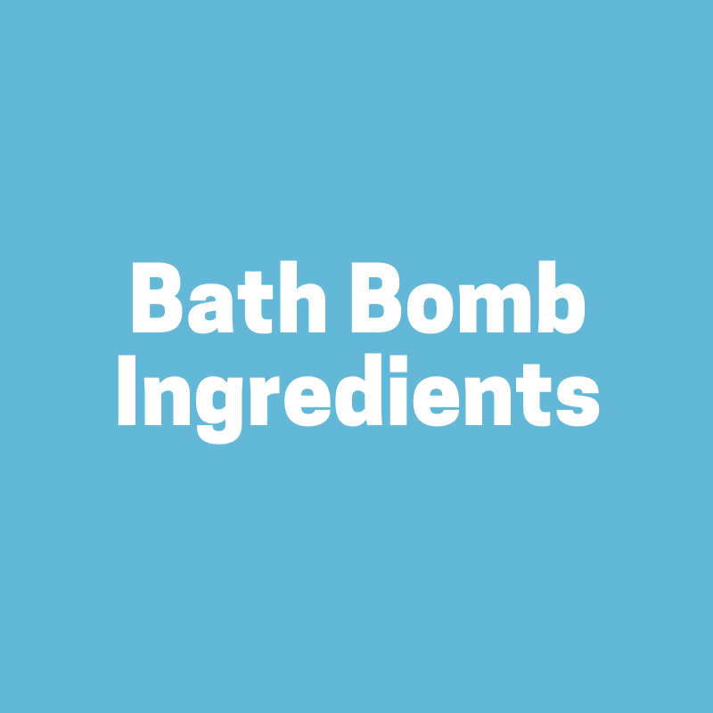 Bath bomb making Ingredients