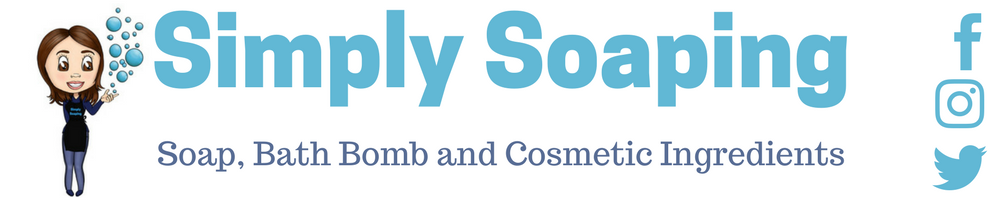 Simply Soaping, site logo.