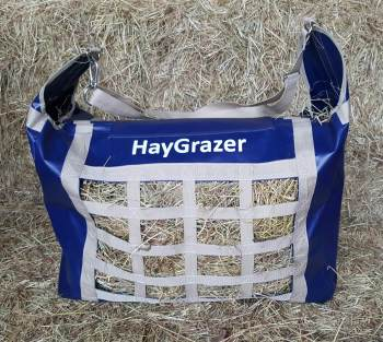 The HayGrazer Bag Navy & Beige