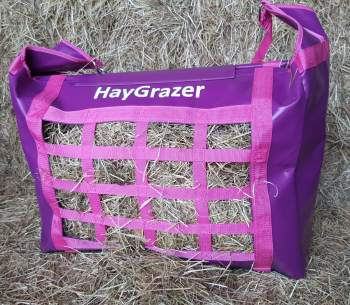 The HayGrazer Bag Purple & Pink