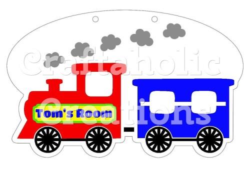 1 x Train Acrylic Blank
