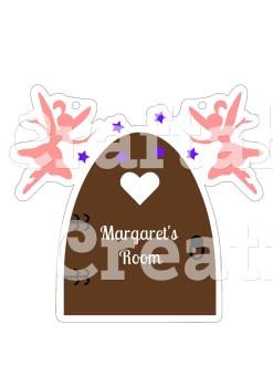 Fairy Door for Acrylic & MDF Hangers