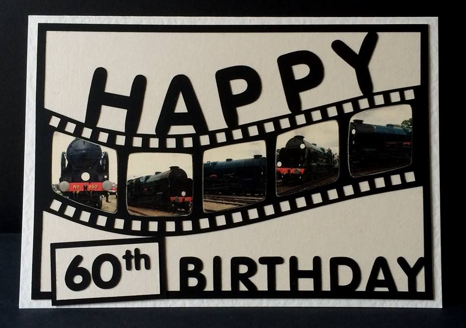 Happy Birthday Film Strip Topper with a bonus A5 aperture card
