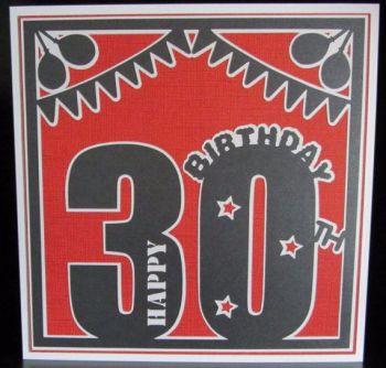 30th Birthday Topper
