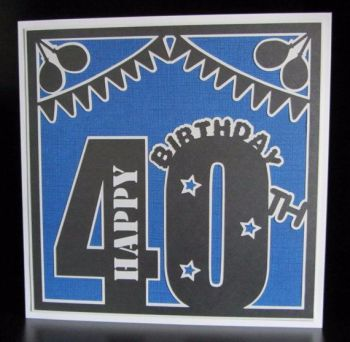 40th Birthday Topper