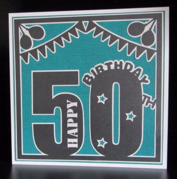 50th Birthday Topper