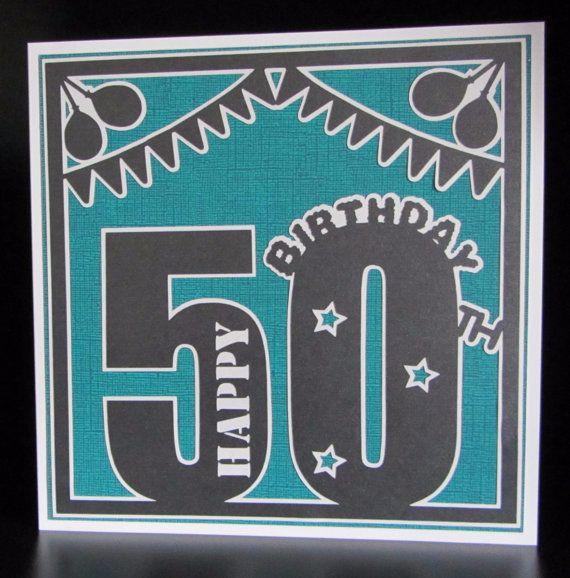 50th Birthday Topper