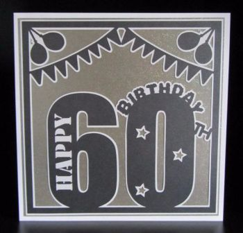 60th Birthday Topper