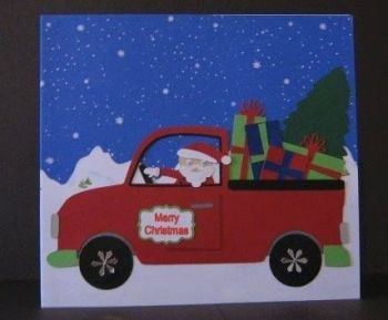 Santa's Pickup Topper