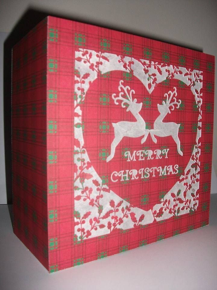 Holly Trees Light Box / Gift Box