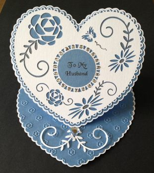 Heart Doily & Topper