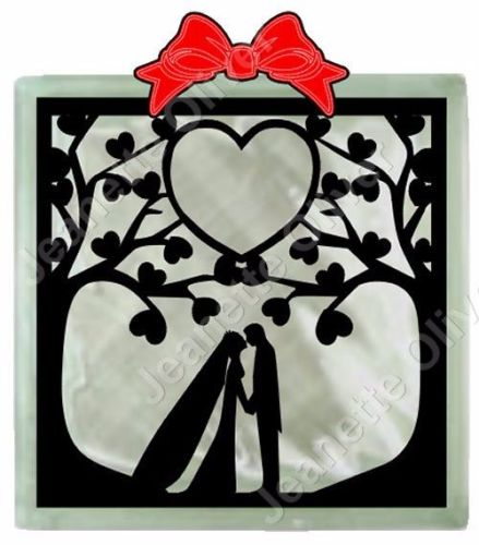 Wedding Trees.........suitable for glass blocks