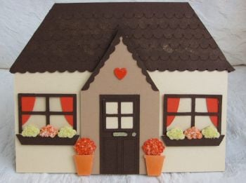 Cottage Shaped Card