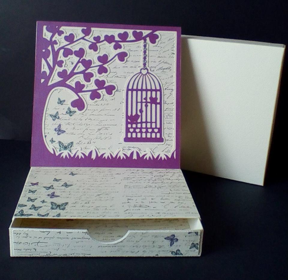 Birdcage Topper Easel Card
