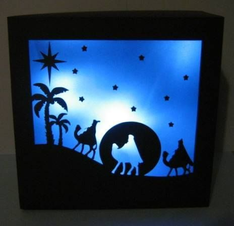 3 Wise Men Gift Box / Luminaire