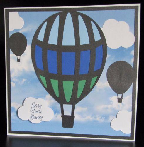 Hot Air Balloon Topper