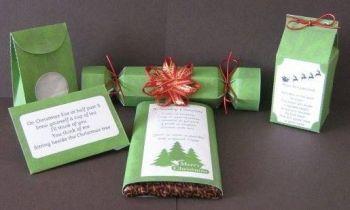 Green Snowflakes Christmas Craft Kit