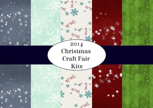 Set of 5 Christmas Craft Kit