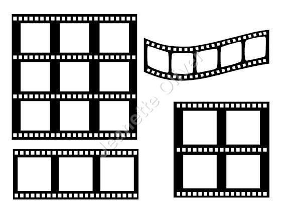 Assorted Film Strips