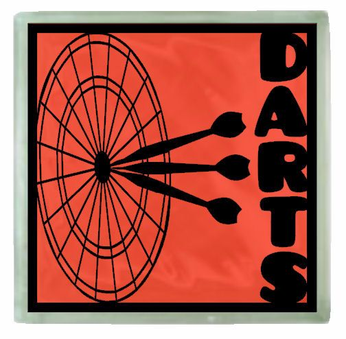 Large Darts Topper