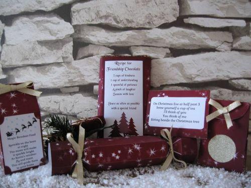 Red Stars Christmas Craft Kit