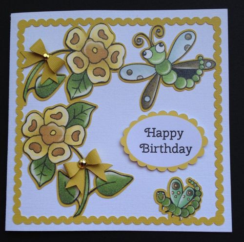Dragonfly Topper & Aperture Card