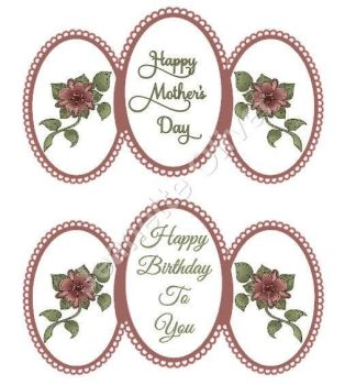 Happy Mother's Day / Happy Birthday Easel Card