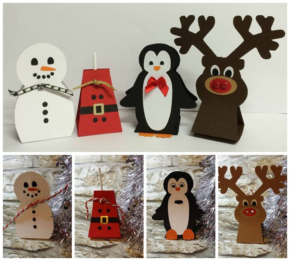 Set of 4 Festive Lollipop Holders